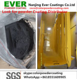 Polyester Outdoor Using Smooth Matt 10%-20% Traffic Balck Color Ral9017 Powder Coating