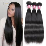 Wholesale 9A Brazilian Hair Straight Human Hair Weave High Quality Virgin Remy Hair Tangle Free Human Hair (TFH)