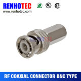 Male Twist on Cable Coaxial Connector BNC Plug for RG6 Rg59