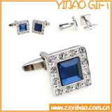 Square Shape Metal Cufflink for Business Gifts (YB-r-007)