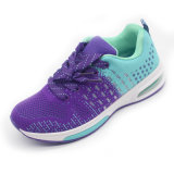 Women&Men Fashion Lace-up Flyknit Sport Shoes Comfortable&Breathable Footwear