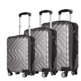 New Fashion ABS/PC Material Cheap Trolley Luggage Trolley Case Bag-8080