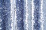 Blue Velvet Blackout Curtain Fabric