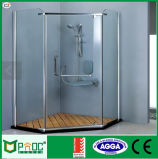 Hot Sale Diamond Shape Glass Shower