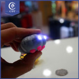 Custom Footed Legs Shape LED Light Key Chain, Promotional LED Key Ring