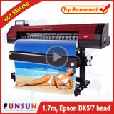 Original Dx5 Print Head Funsunjet Fs-1700m Eco Solvent Printer 1440dpi