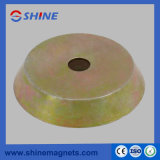 Colorful Zinc Plated Steel Magnetic Fixing Plate (no thread) for Formwork