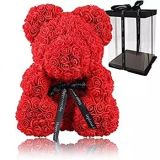 Promotional Gift for Mother's Day Valentine's Day Anniversary Wedding Proposal Gift Teddy Rose Bear