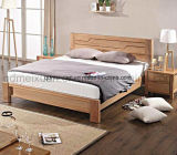 Solid Wooden Bed Modern Double Beds (M-X2286)