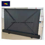 Good Price for Electric Floor Rising Projection Screen/Motorized Projector Screen with Flexible PVC Fabric