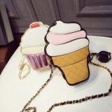 Korean Summer Fashion Ice Cream Cake Bag Casual Bag Shoulder Bag Chain Diagonal Female Package Bags