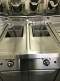 Electric Deep Fat Fryer for Fried Chicken with Cabinet