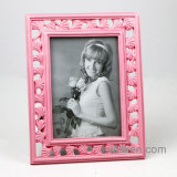 New Simplicity Fashion Pink Leaf Resin Photo Frame