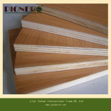 Wooden Grain Melamine Paper Faced Plywood for Wardrobe