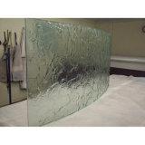 Tempered Figured Glass for Door Pane