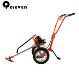 Two Handle Professional Hand Push Brush Cutter Grass Trimmer