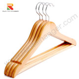 Hot Selling Smooth Clothes Wooden Hanger Suit Hanger