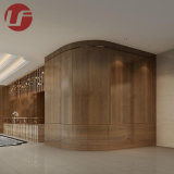 Hotel Corridor Fixed Furniture with Whole Wood Wall Panel