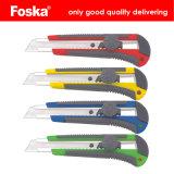 Foska Popular Colorful Plastic Student Cutter Knife