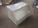 Truck Trailer Checker Plate Upright Portalbe Aluminum Tool Box