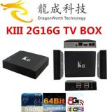 2016 Kiii 2g 16g S905 TV Box Android 5.1
