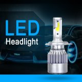 Wholesale C6 Car Light Cheap 9003 Hb2 H4 LED Headlight Bulb Two Sides 72W 8000lm