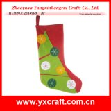 Christmas Decoration (ZY14Y626 20′′) Christmas Tree Stocking Candy Stocking Item