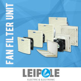 Front Open Cabinet Enclosure Panel Ventilator Axial Ventilation Fan Filter