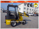 Small Front End Loader Er06 with Grapple Forks
