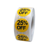 Best Sale Discount Self Adhesive Label Sticker for Garment