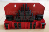 "3/8""-16-7/16"" Deluxe Steel High Hardness 36PCS Clamping Kit"