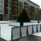 Outdoor Portable Artificial Ice Rink Synthetic Skating