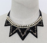 Ladies Fashion Charm Crystal Choker Necklace (JE0181)