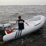 Liya 4m-5.2m Fiberglass Inflatable Pontoon Boats Wholesale