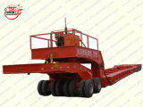 Hydraulic Modular Trailer with Gooseneck Multi-Axles Heavy Cargo Mover/Heavy Duty Equipment Transport Semitrailer