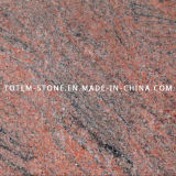 Natural Stone Multicolor Red Granite for Tile, Countertop, Slab