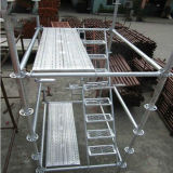 Q235 Steel Hot DIP Galvanized Ringlock Scaffold