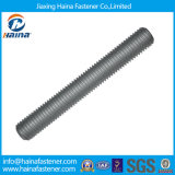 4.8 8.8 Grade Steel Stainless Steel Ss304 Ss316 ASTM A193 B8 B8m/Zinc Plated Galvanized B7/M3-M120 DIN975 DIN976 Steel Threaded Rods/Thread Rod