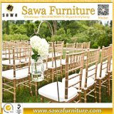 Polycarbonate Resin Chiavari Chair Gold Tiffany Chair