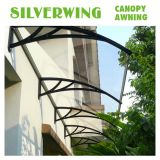 Patio Cover Outdoor Awning Door Canopy Make by Solid PC/Hollow Polycarbonate (YY-C)