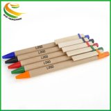 Cheap Stationery Recycle Plastic Ball Point Pen for Promotional