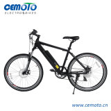 26 Inch MTB Electric Bike with Half Hidden Battery for Men
