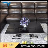 Home Furniture Stainless Steel Table Glass Coffee Tables Tea Table