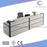 Hot Selling Melamine Desktop Finished Office Reception Table