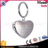 Promotion Gifts Custom 3D Heart Shape Zinc Alloy Key Ring