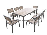 Outdoor Garden Patio Plastic Wood Dining Set Polywood Furniture