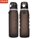 1L Silicone Collapsible Water Bottle for Outdoor