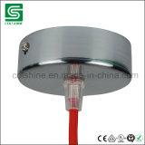 Chrome Brushed Ceiling Rose Kit for Chandelier Lamp