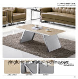 Modern Hotel Furniture Tempered Glass Coffee Table Yf-T17089