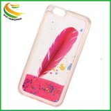 TPU Liquid Glitter Quicksand Mobile Phone Cover for Gift
